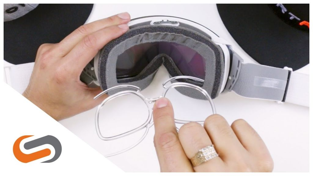 Slidinėjimo akiniai prastai matantiems